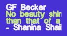 GF Becker