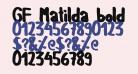GF Matilda bold