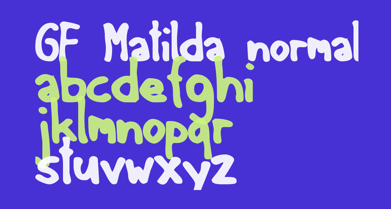 GF Matilda normal
