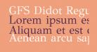 GFS Didot Regular