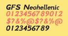 GFS Neohellenic Bold Italic