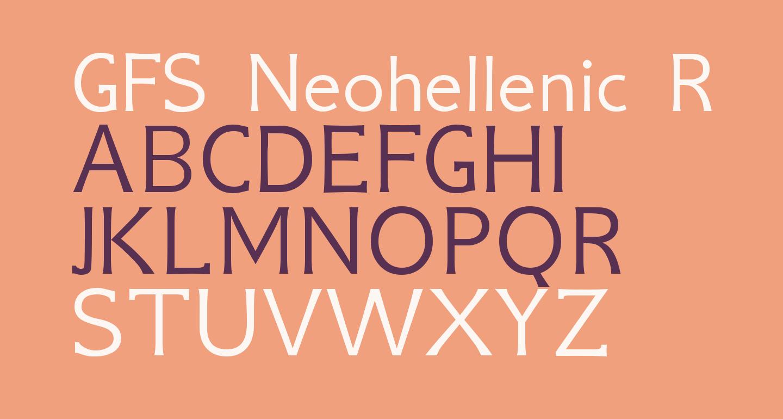 GFS Neohellenic Regular