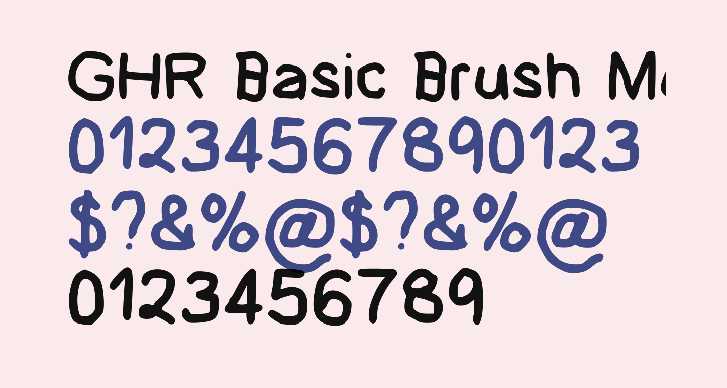GHR Basic Brush Medium