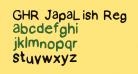 GHR JapaLish Regular