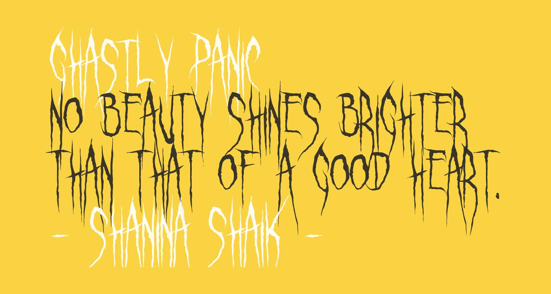 Ghastly Panic
