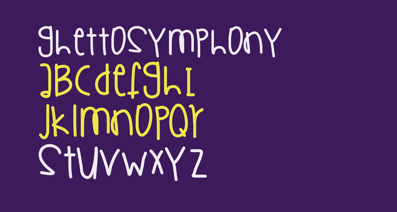 GhettoSymphony