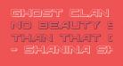 Ghost Clan 3D Regular