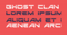 Ghost Clan Laser Regular