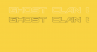 Ghost Clan Outline Regular