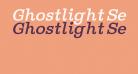 Ghostlight Semilight Italic