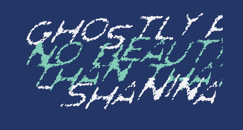 Ghostly Prints Italic