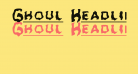 Ghoul Headline