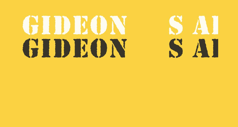 Gideon s Army