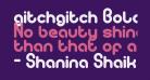 gitchgitch Bold
