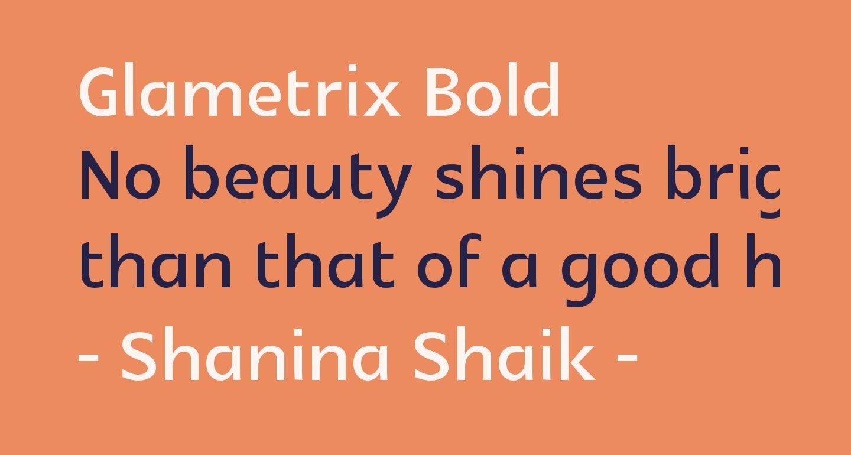 Glametrix Bold