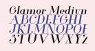 Glamor Medium Italic