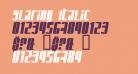 Glaring Italic