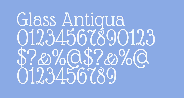 Glass Antiqua