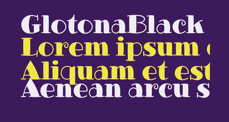 GlotonaBlack