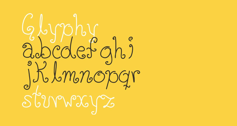 Glyphy