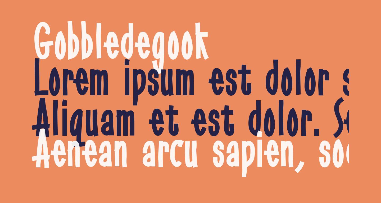 Gobbledegook