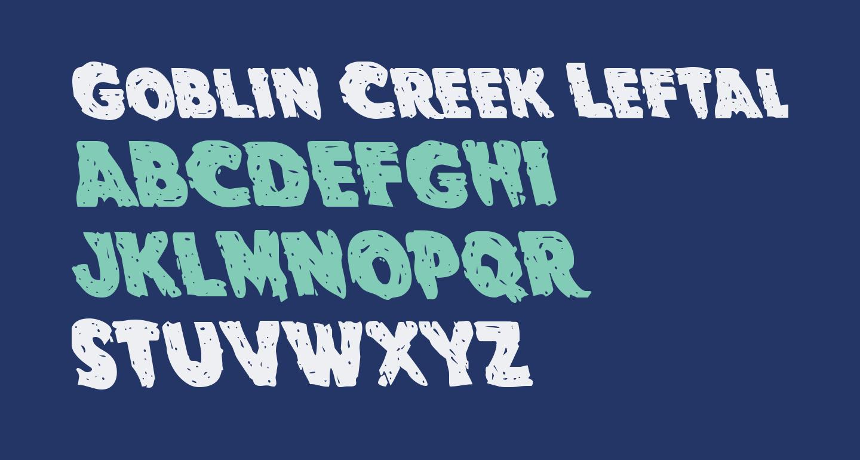 Goblin Creek Leftalic