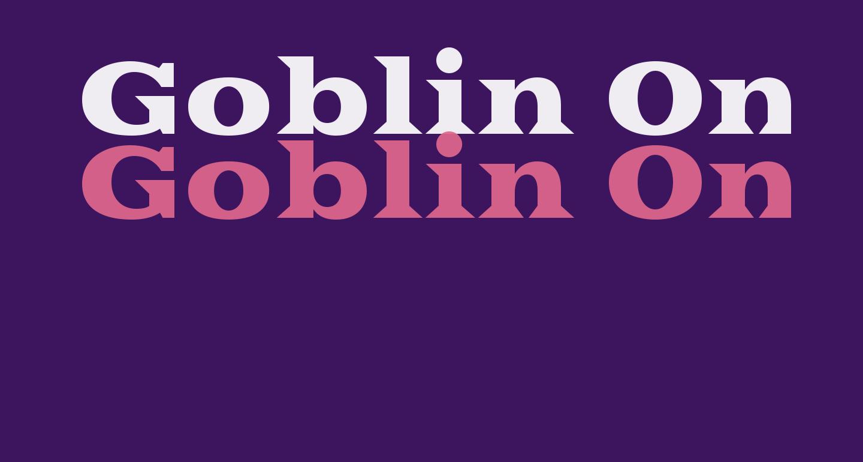 Goblin One