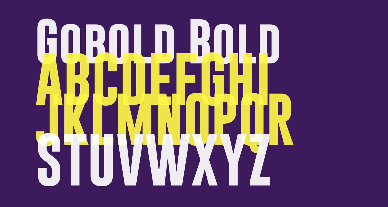 Gobold Bold