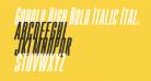Gobold High Bold Italic Italic