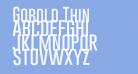 Gobold Thin
