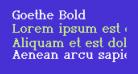 Goethe Bold
