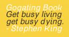 Gogating Book Inktrap Inktraps Italic