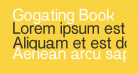 Gogating Book