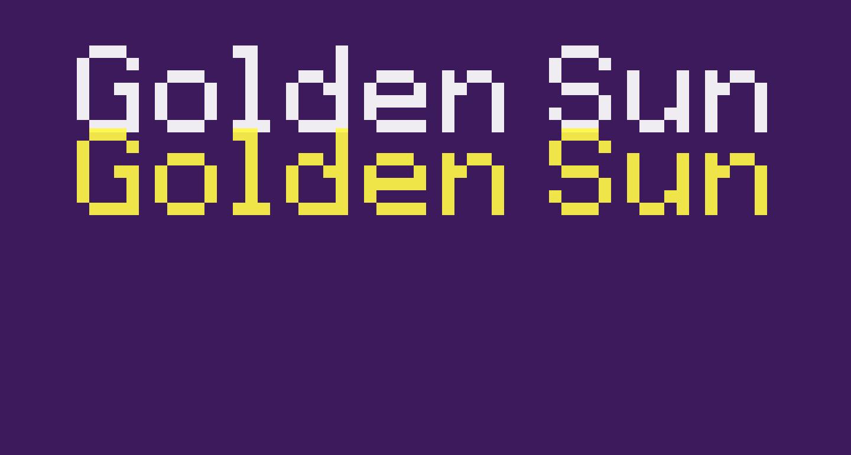 Golden Sun Regular