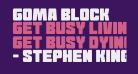 Goma Block