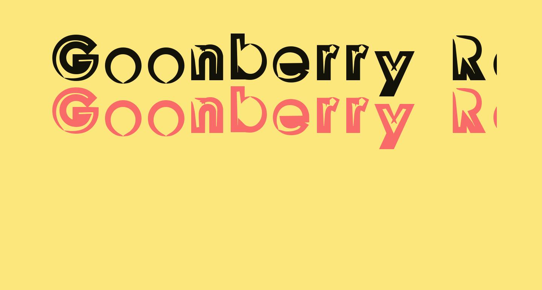 Goonberry Regular