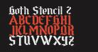 Goth Stencil 2