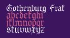 Gothenburg Fraktur