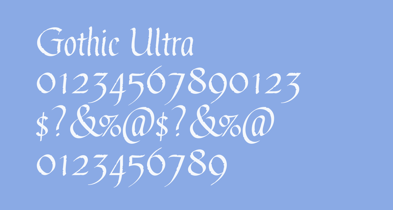 Gothic Ultra