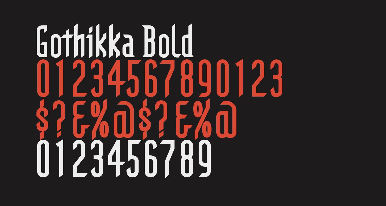 Gothikka Bold
