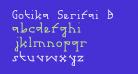Gotika Serifai B
