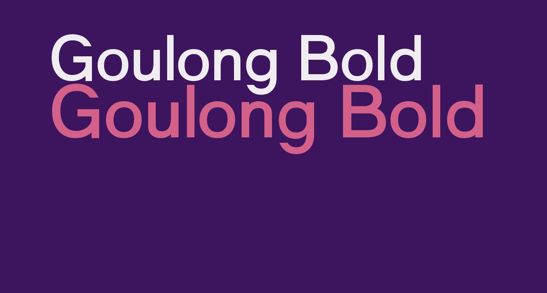 Goulong Bold