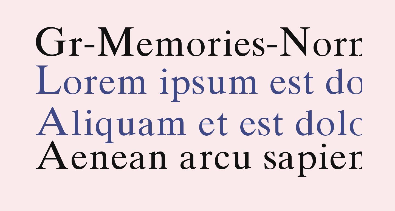 Gr-Memories-Normal