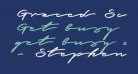 Graced Script PERSONAL USE