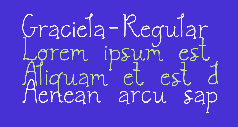 Graciela-Regular