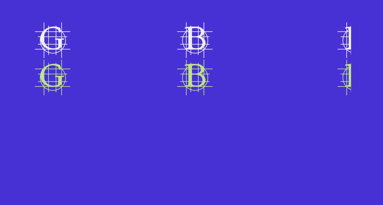 GrafBold Bold