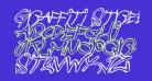 Graffiti Street Balloon Italic