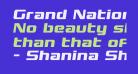 Grand National Semi-Italic