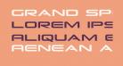 Grand Sport Condensed