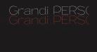 Grandi PERSONAL USE Thin